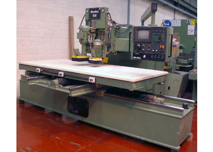Wadkin 2691 8 x 4 CNC router - VWM Ltd