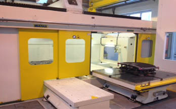 Multiax 5 axis outside aircelle