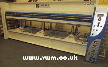 Orma NCP-Digit heated press
