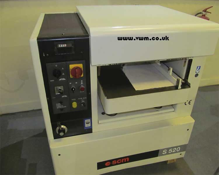 SCM S520 thicknesser