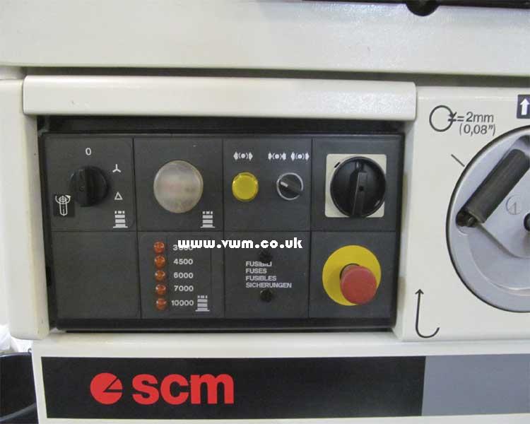 SCM T130 Controls