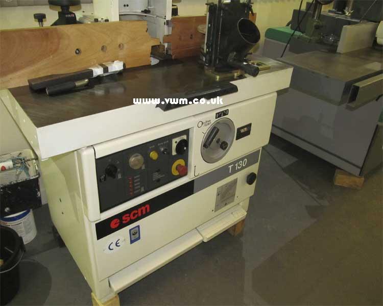 SCM T130 Spindle moulder