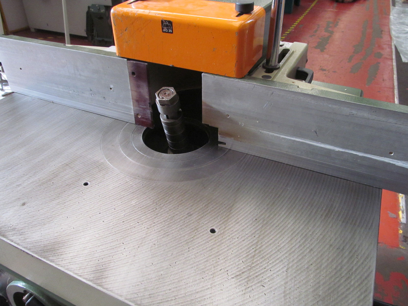 SCM T110 spindle