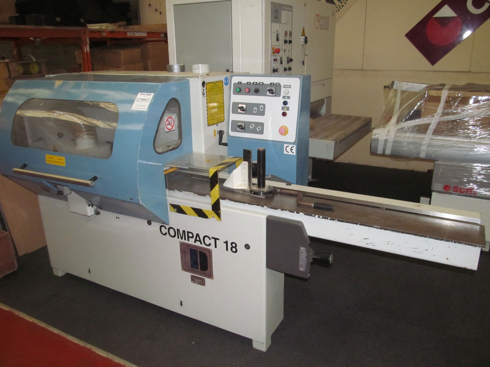 Dominion Compact 180 4 side planer