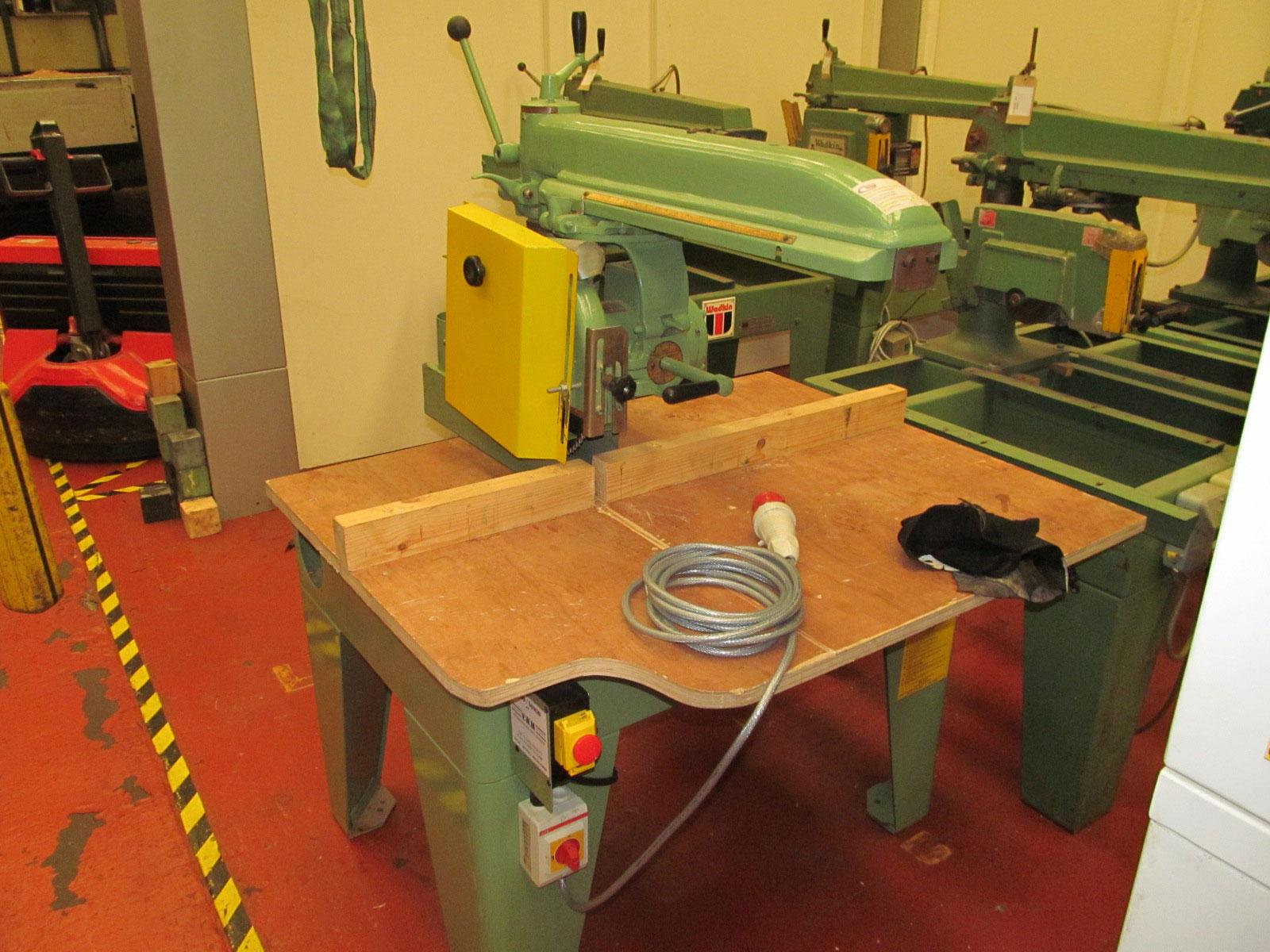 Wadkin 14″ BRA cross cut saw