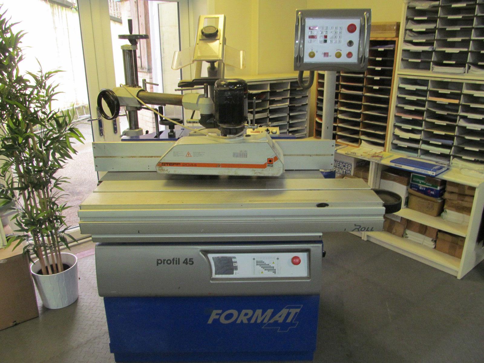 Felder Profil 45 electronic tilting spindle moulder