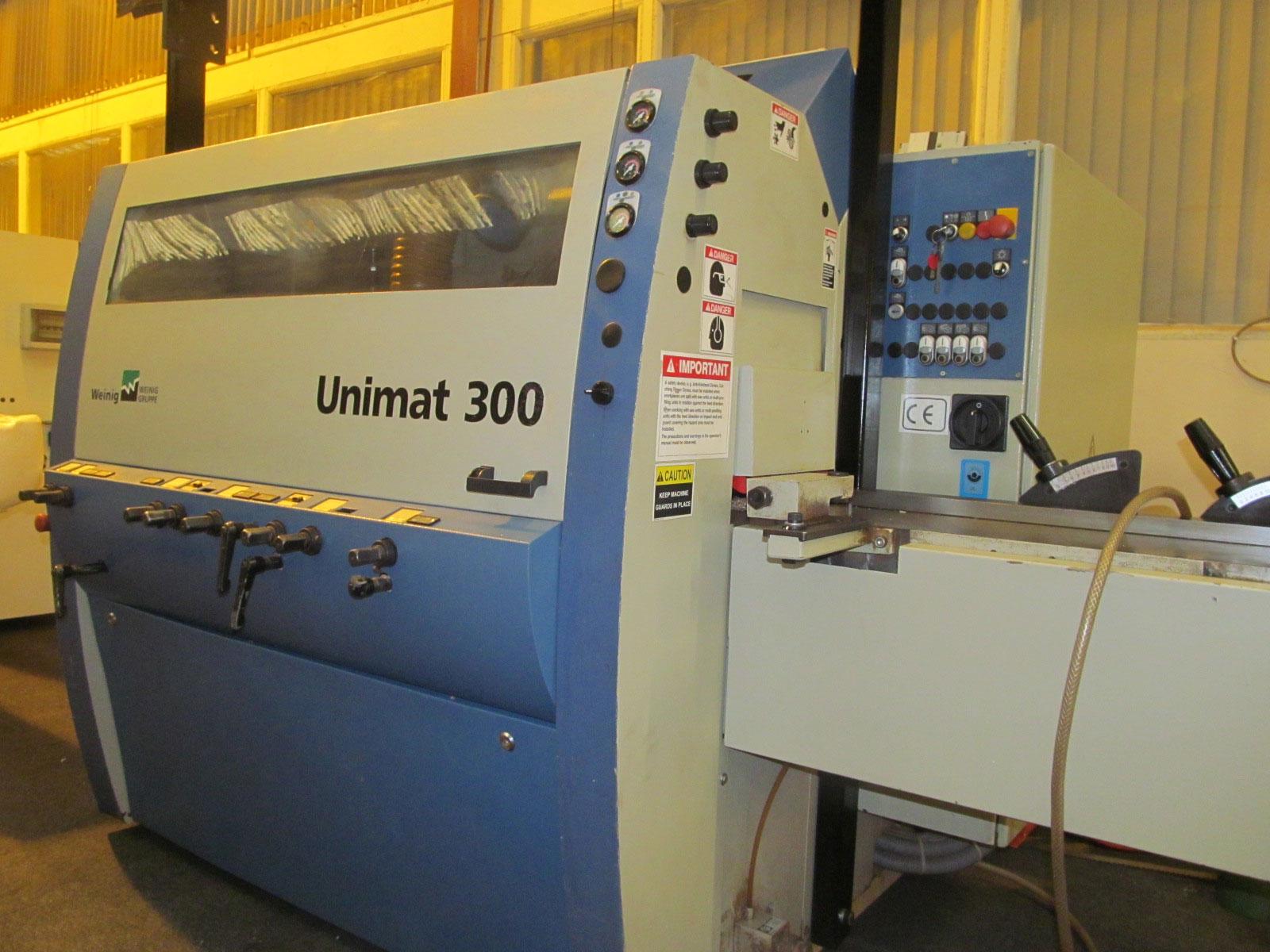 Weinig Unimat 300 5 head moulder - Woodworking - CNC