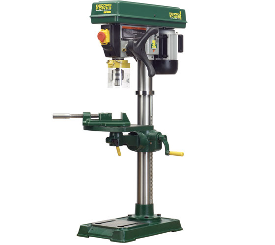 Record DP58B Heavy duty bench drill with 30″ Column