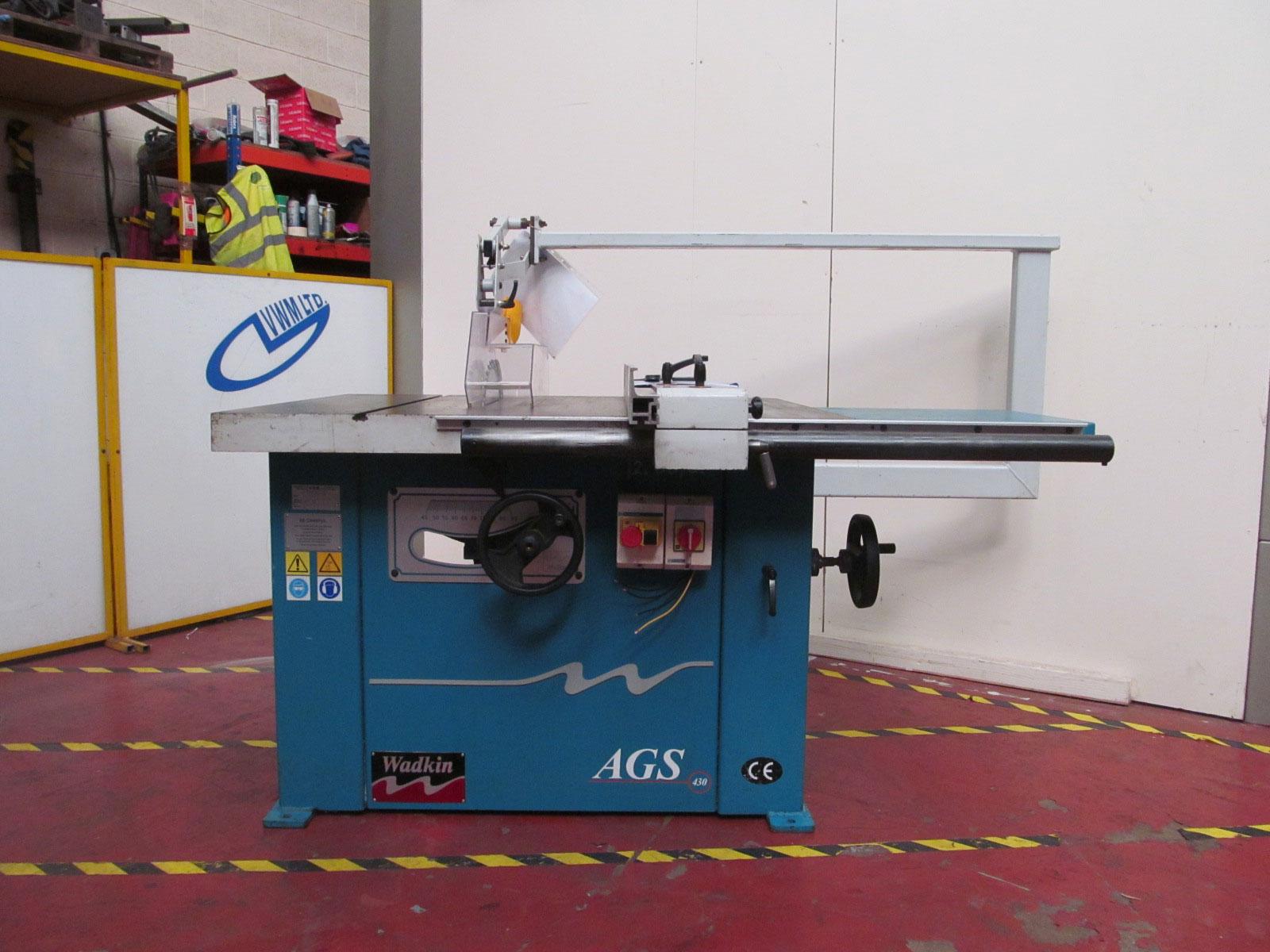 Wadkin AGS 430 Sawbench