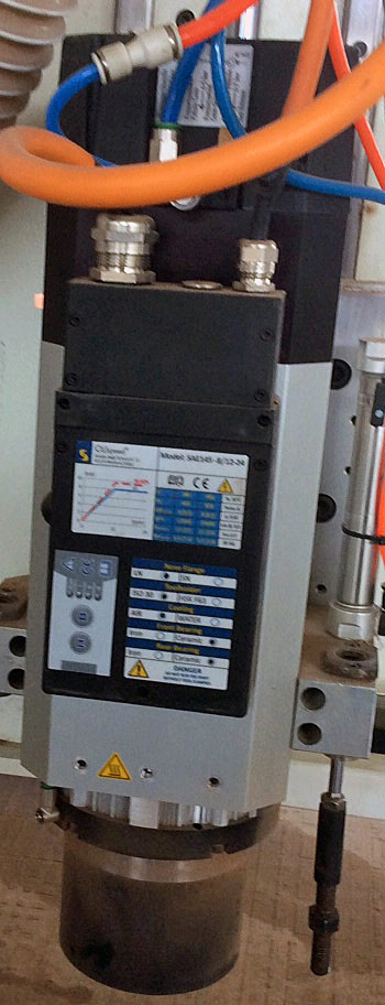 9Kw spindle