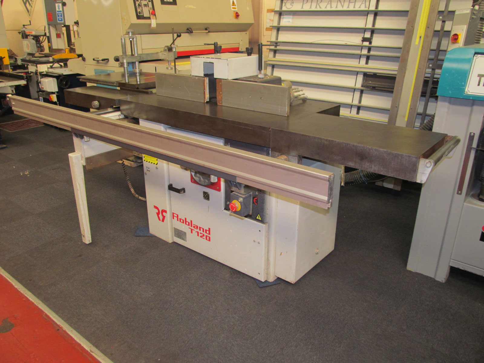 Robland T120 TL spindle moulder with tenoning table