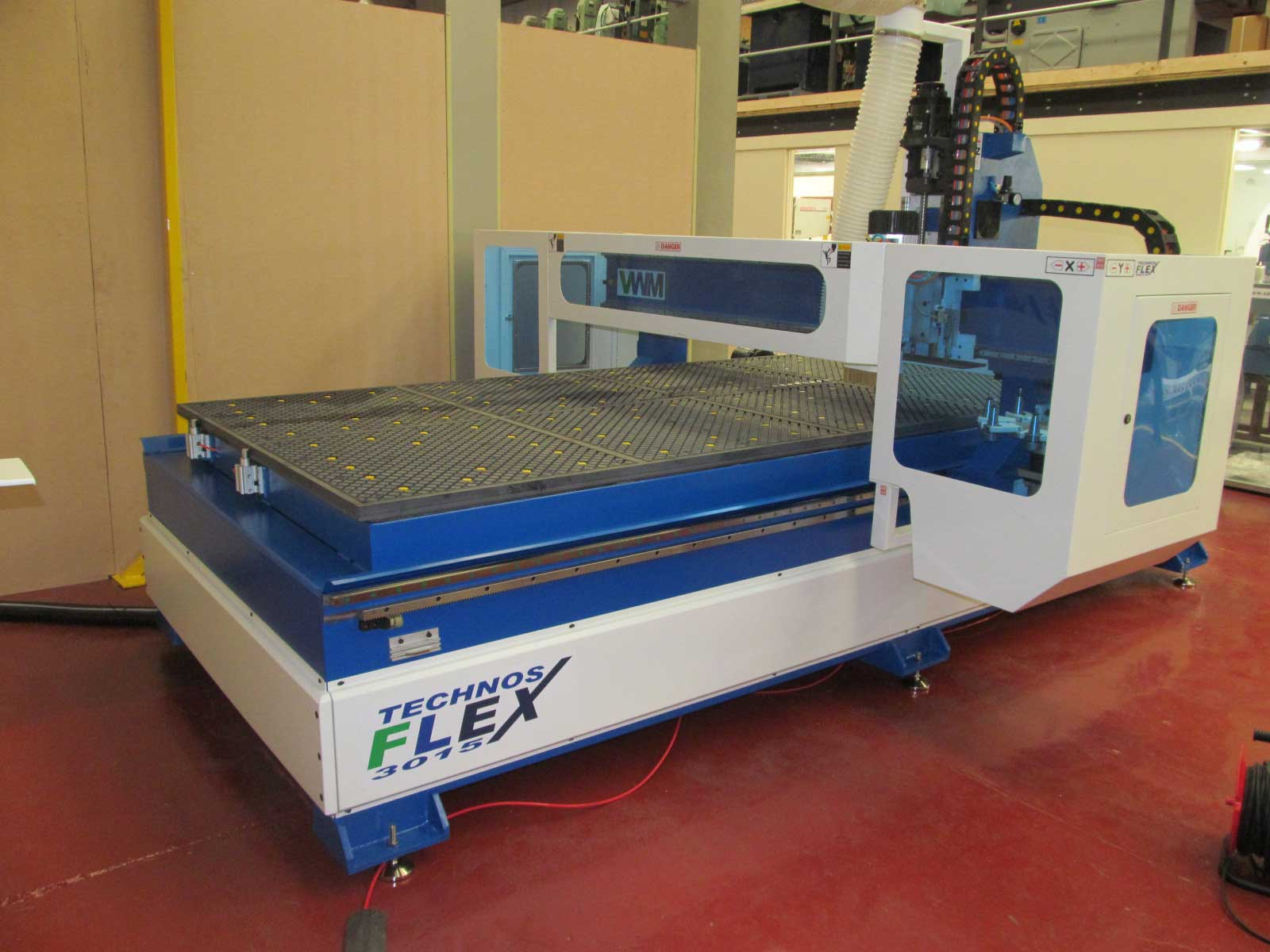 Technos 3015 Flexx HD nesting CNC Router