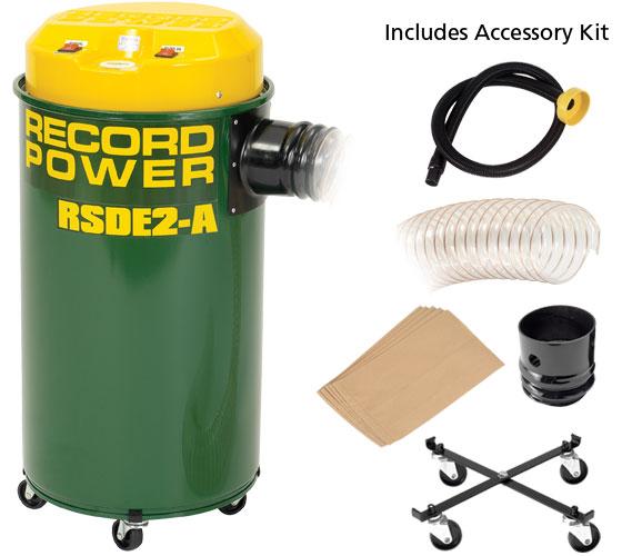 Record RSDE2/A wood vacuum