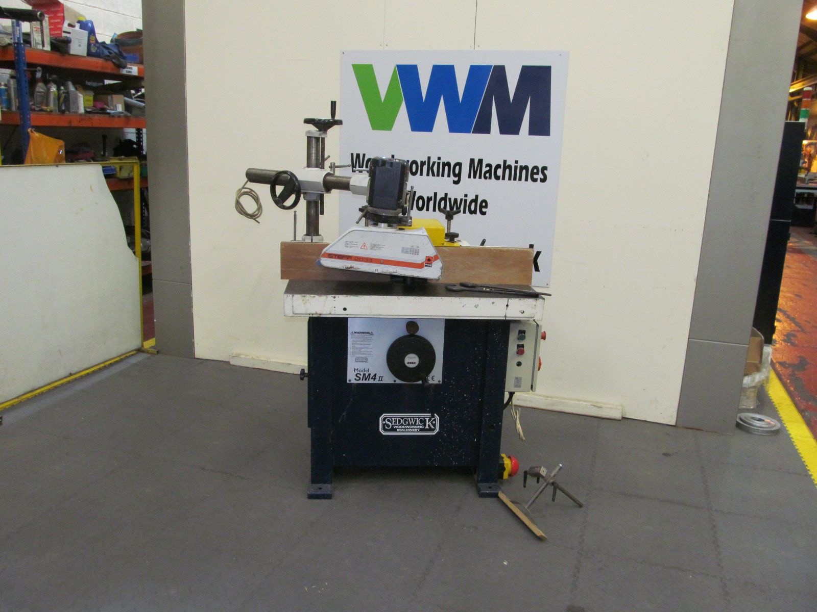 Sedgwick SM4 Mk2 spindle with power feed