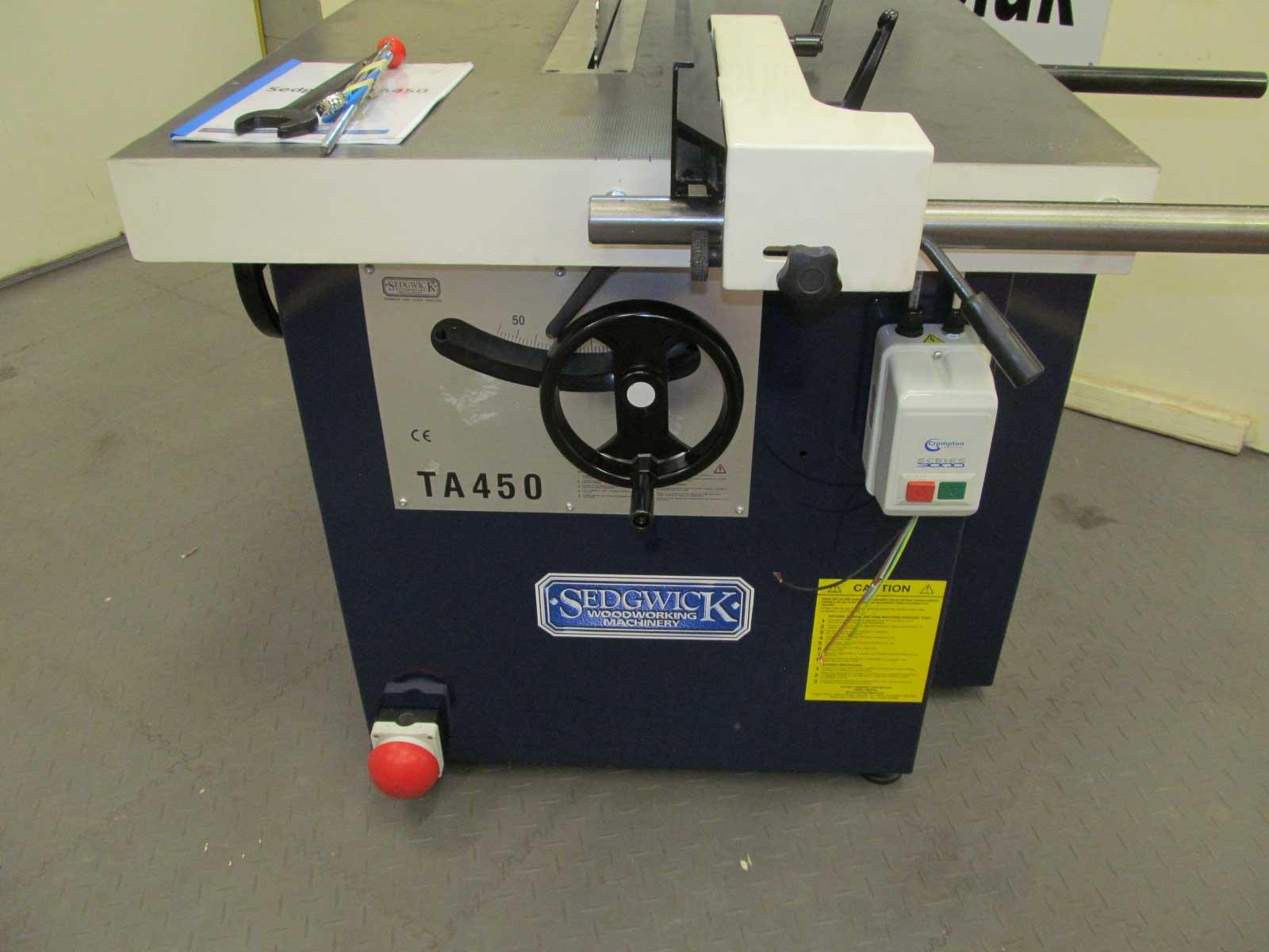 Sedgwick Ta450 Sawbench Woodworking Cnc Classical Machinery