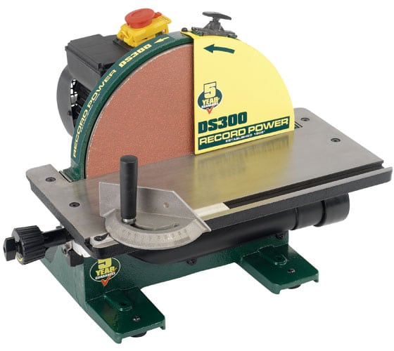 Record Power DS300 Cast iron disc sander