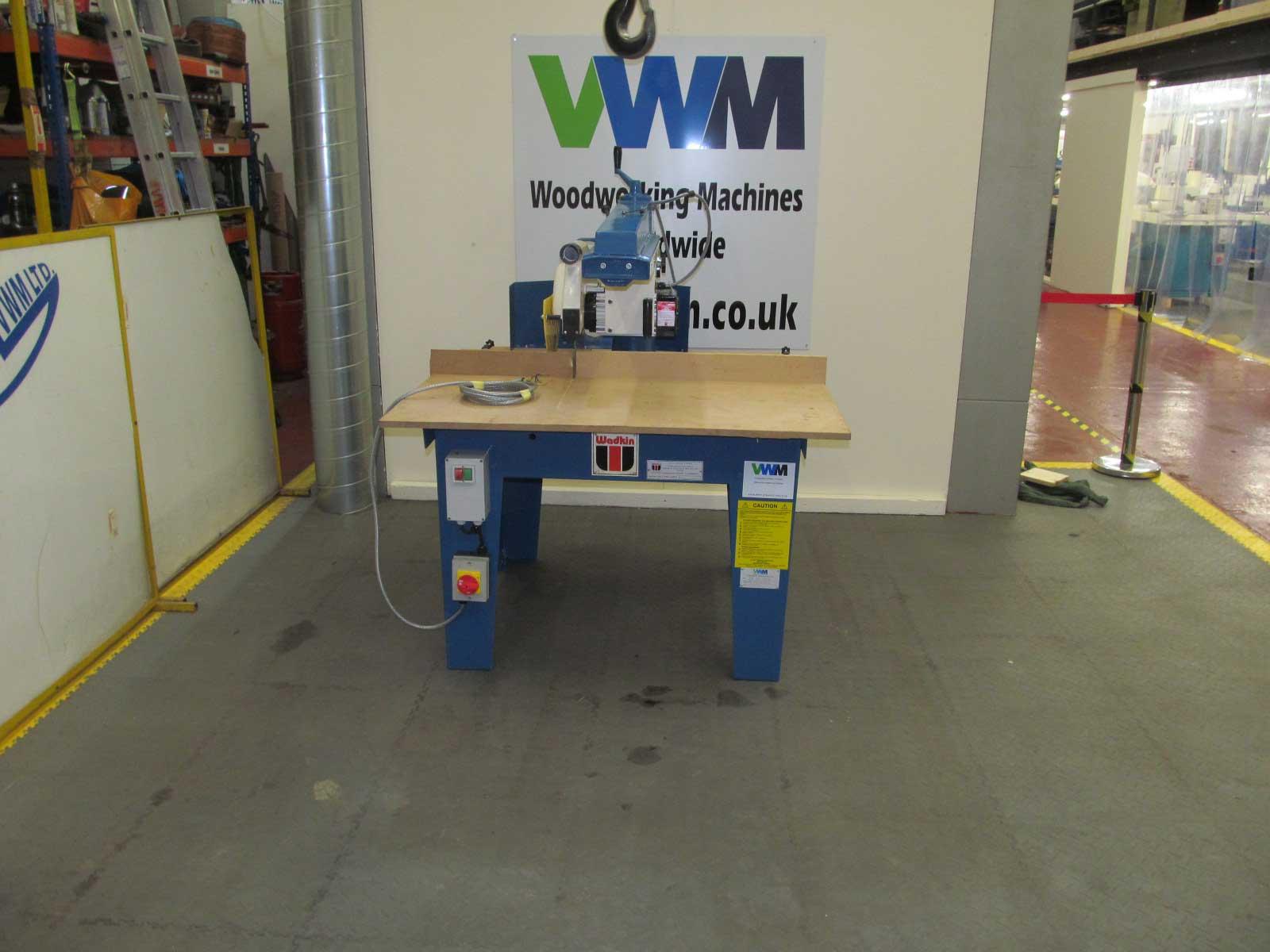 Wadkin 350 BRA cross cut saw