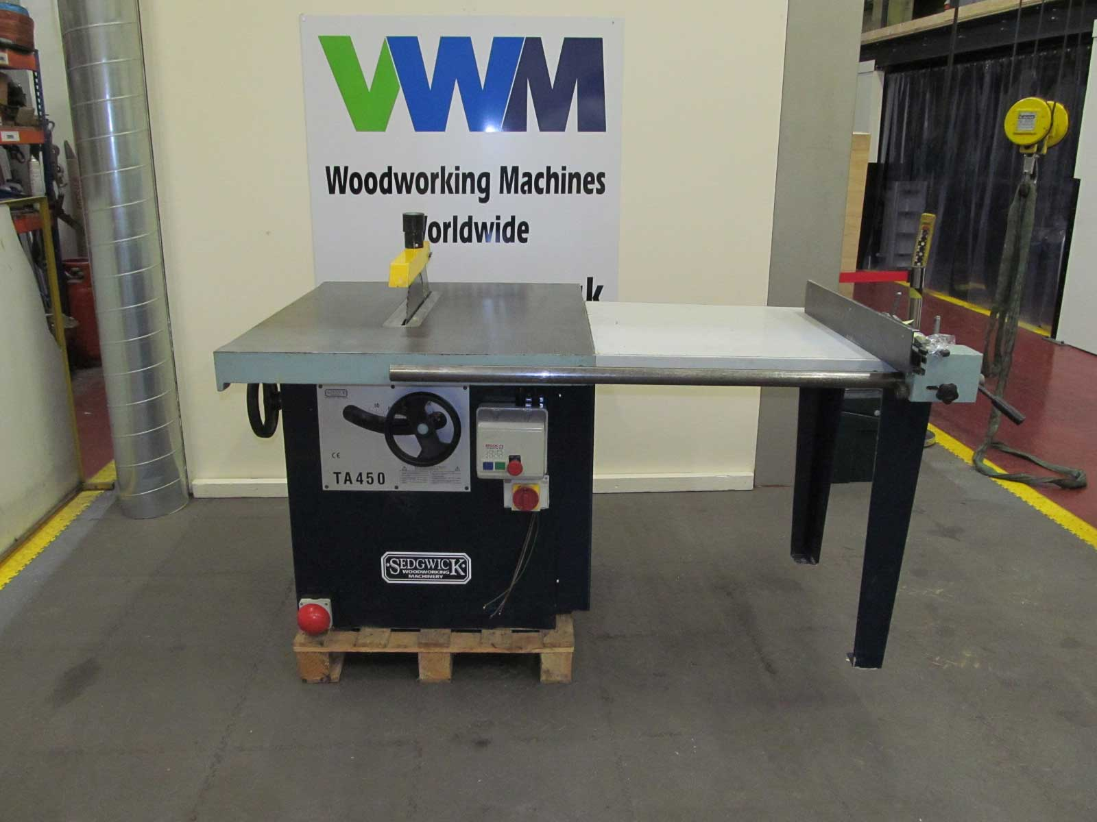 Sedgwick TA450 with Extension table