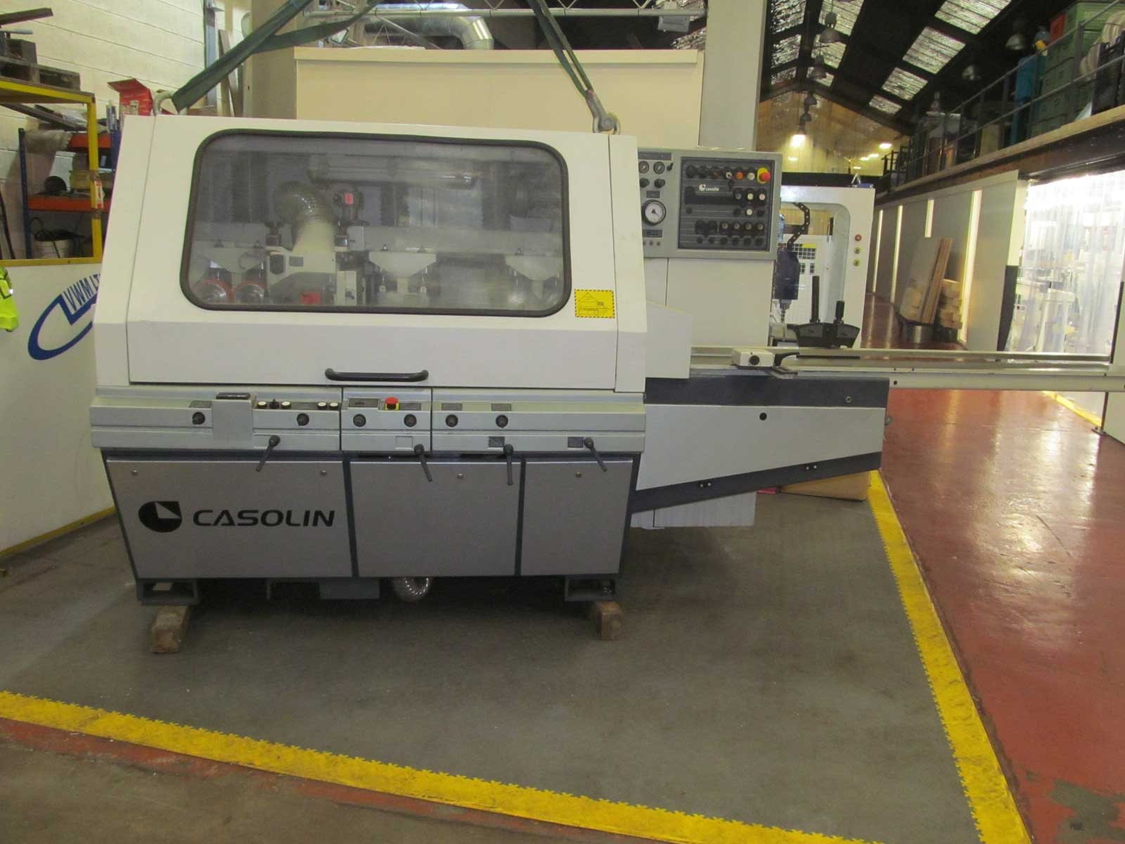 Casolin MEGA 5 five head moulder