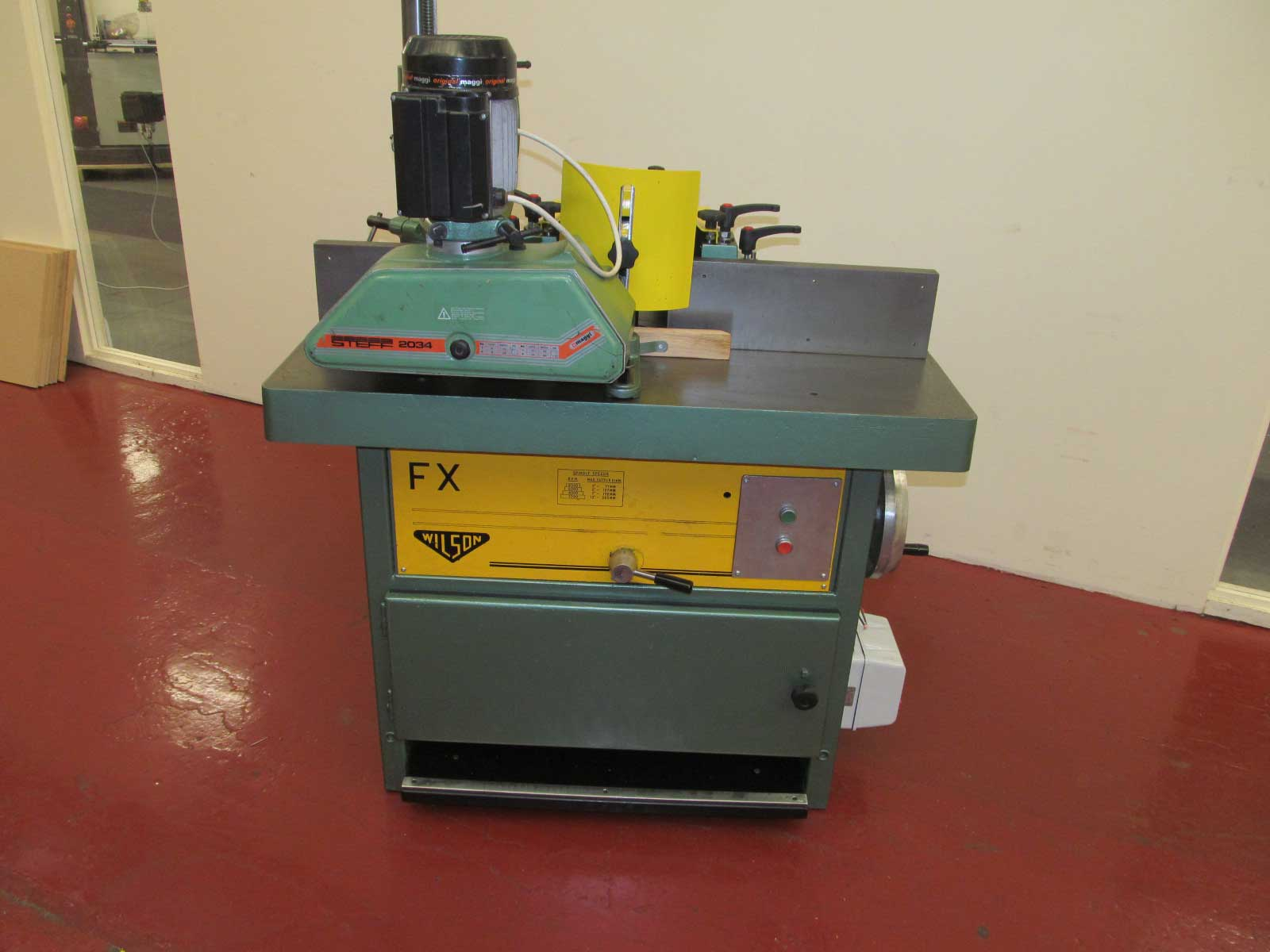 Wilson FX spindle with feed