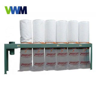 6 Bag 11kw dust extraction unit