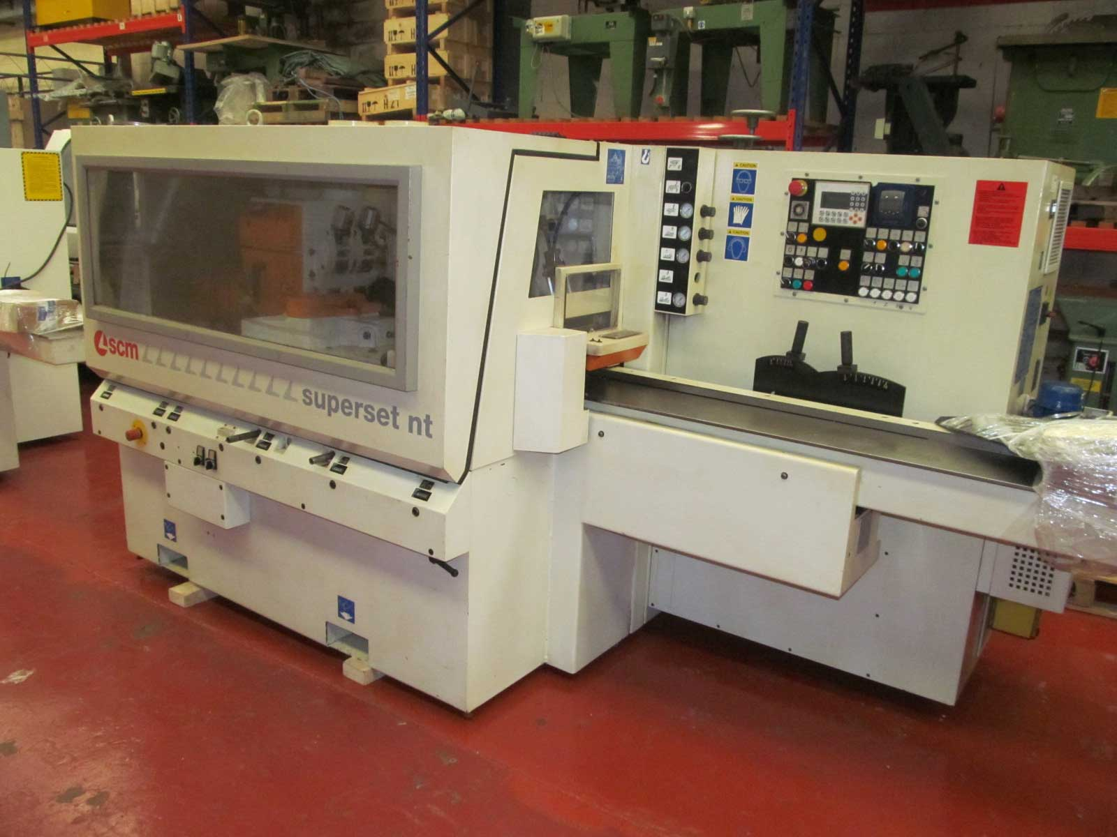 SCM Superset NT5 Head moulder